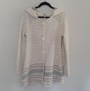Free People | A-Frame Wool Blend Cardigan Sweater